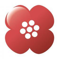 Annansilmät-kukka (logo)